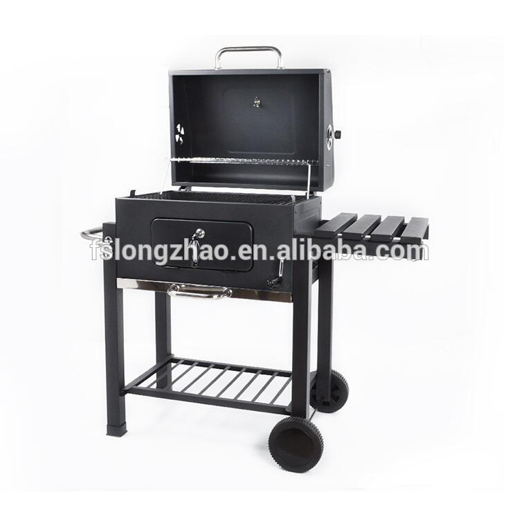 Smokeless large bbq charcoal grill smoker box