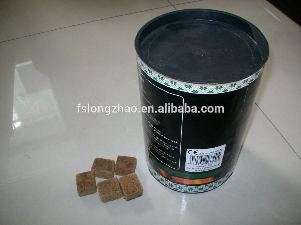 50% Paraffin and 50% wood Fire Starter Cube