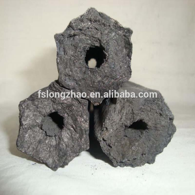 Barbecue (BBQ) Application and charcoal Briquette Shape coal