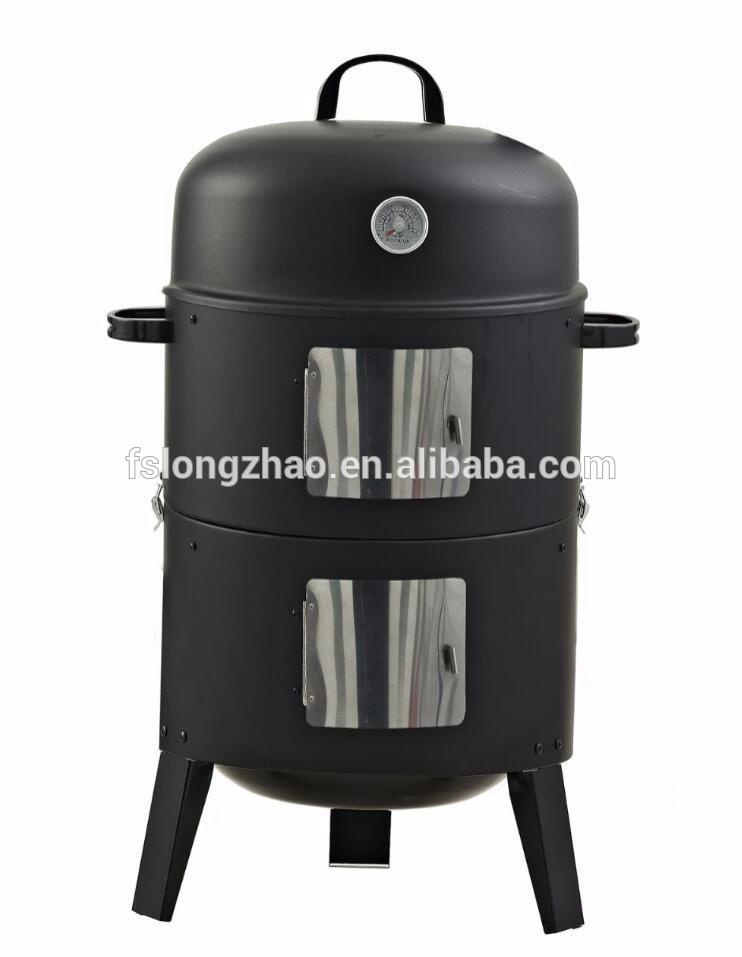 Multifunctional barbecue smoker grill design commercoal meat smoker oven