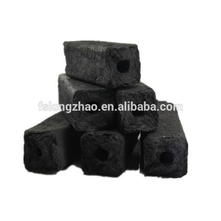 Low ash sawdust charcoal briquettes for barbecue