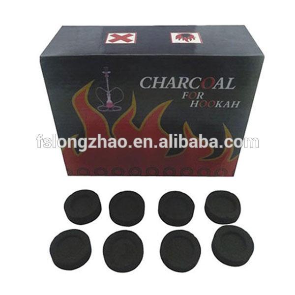 No smoke no flavor hookah tablet coal coconut cell shisha charcoal