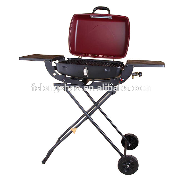 2017 New!!! Outdoor portable butane gas bbq grill for sale