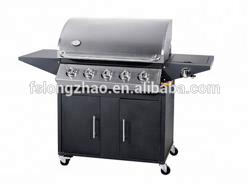 CE Approval Stainless Steel barbecue grill machine gas grill bbq