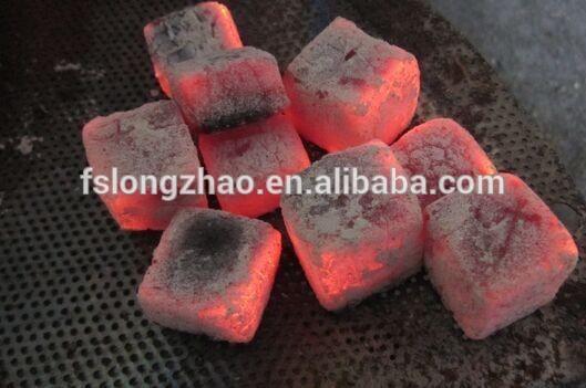 Smokeless square bamboo hookah royal charcoal for shisha