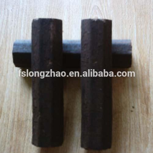 machine made hard wood hexagon bbq charcoal briquette