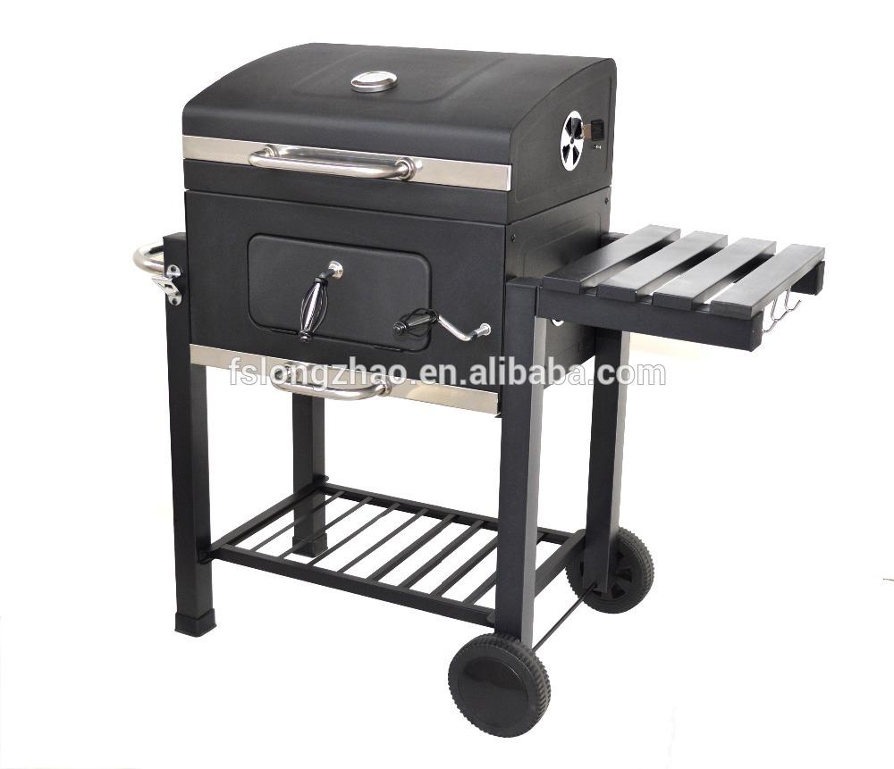 Manufacturer height adjustable bbq charcoal grill for Argentine market