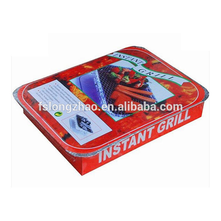 600g/1000g disposable instant grill