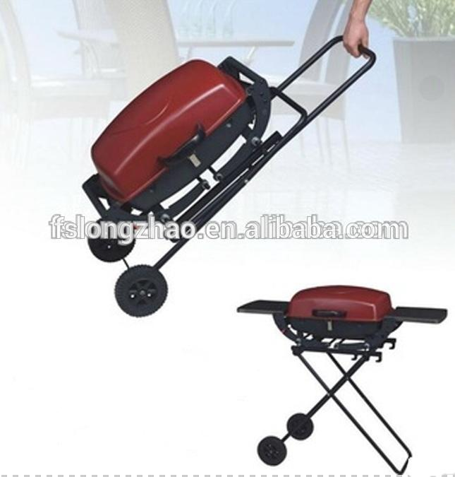 Customized color portable bbq gas grill machine outdoor
