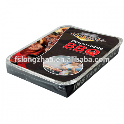 500g disposable bbq instant grill charcoal for sale