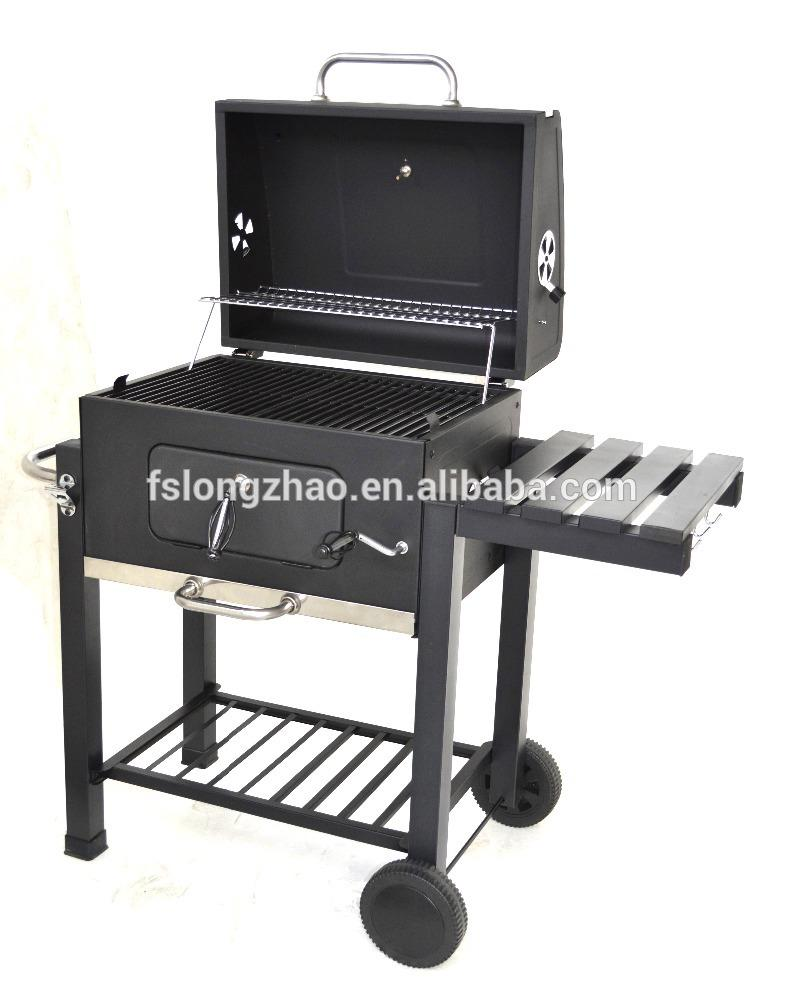 Manufacturer height adjustable bbq charcoal grill for Argentine market