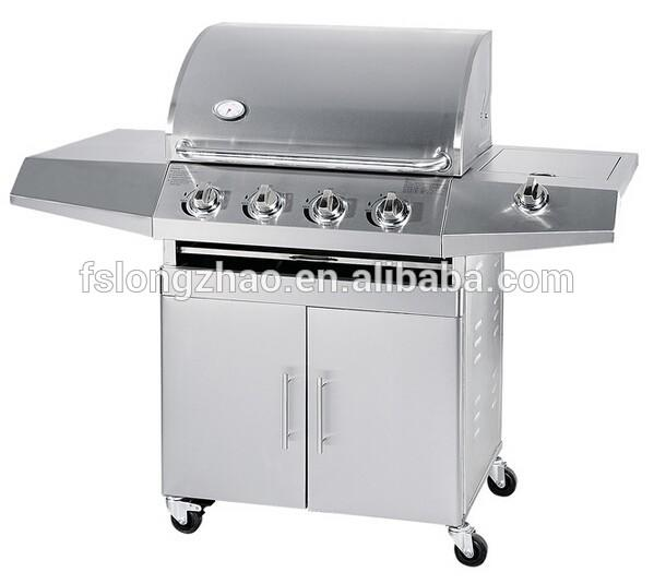 CE/CSA approved European style stainless steel bbq used gas grill for sale