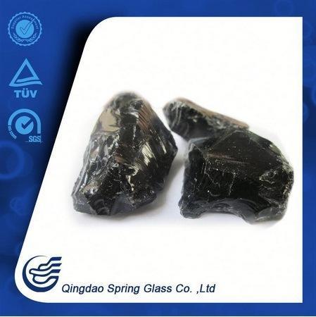 Black Glass Stone From Qingdao