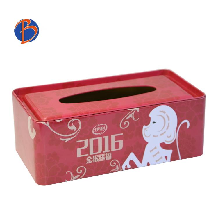 Bodenda factory wholesales sanitary napkin tin box OEM Tinplate paper containermetal tin boxpackaging