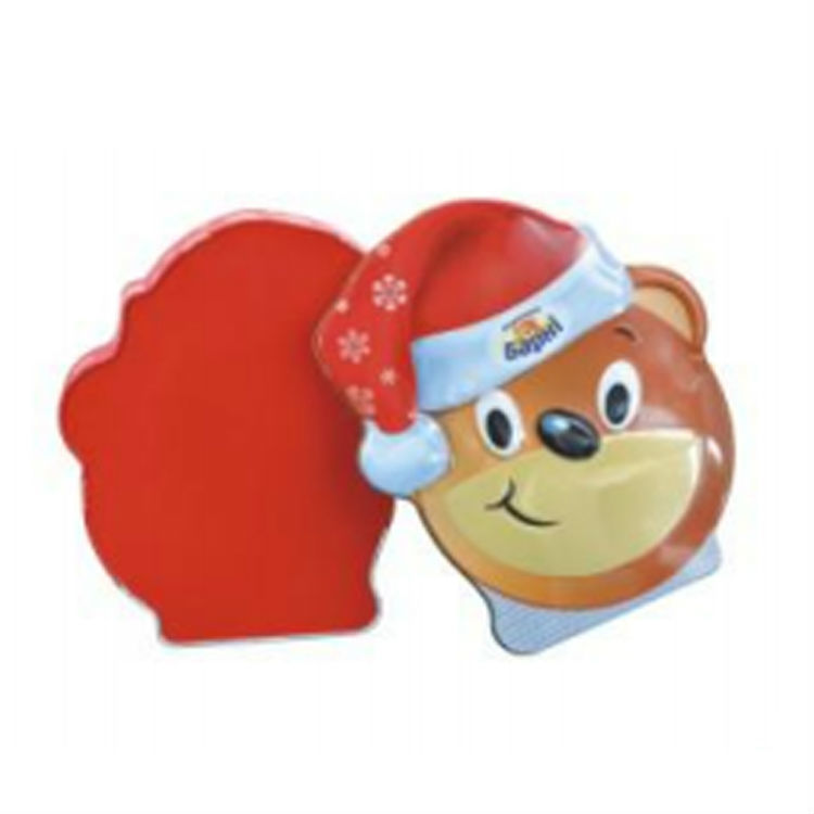 Children's Daynougat candy cookies box cute cartoon bear shape gift packing box