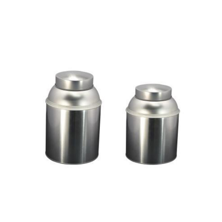 Hot Sale Factory OEM Food Grade Tea Caddies Metal Tin Packaging BoxMetal Can for Packaging Food