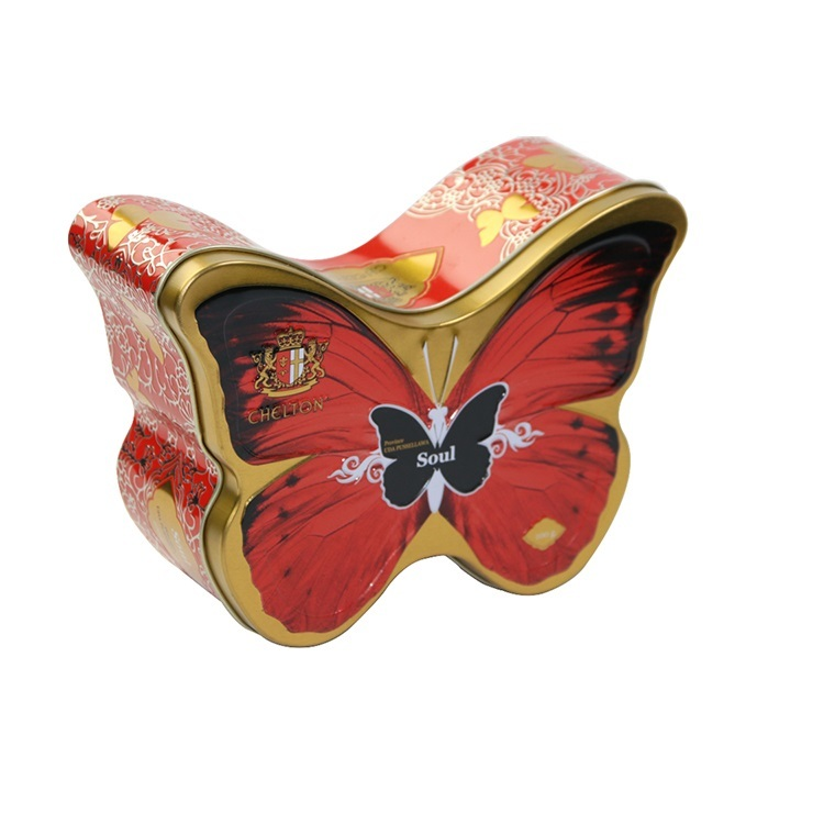 Butterfly good-looking hot tin box