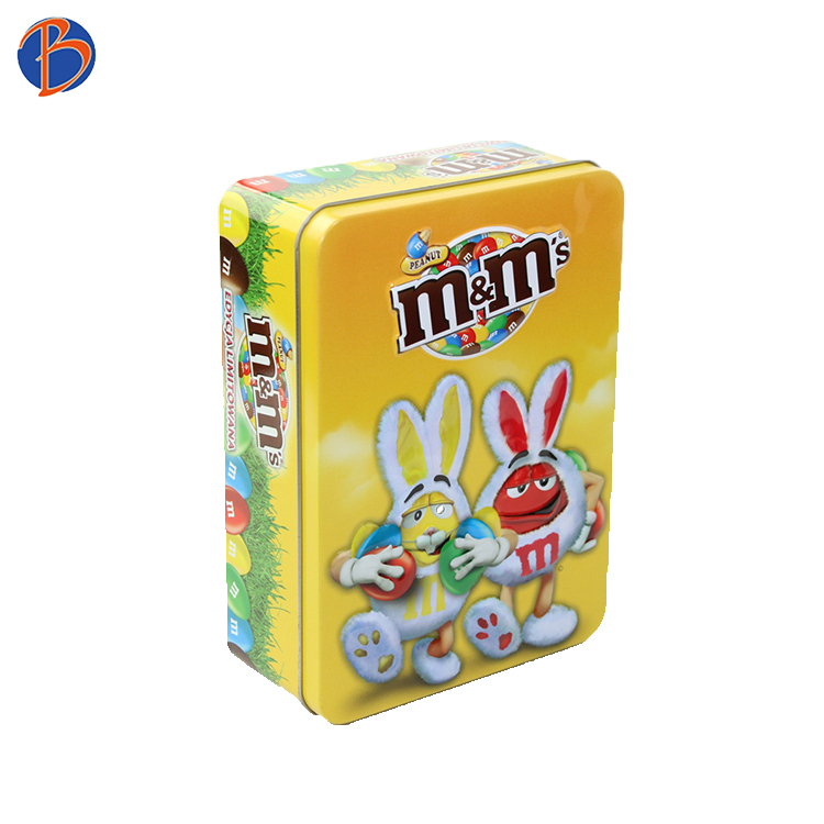 Bodenda factory child celebrationwholesales chocolate candy metal tin cans