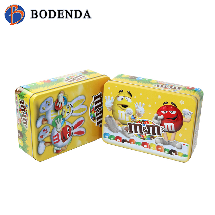 New style safety food storage container biscuit tin cans