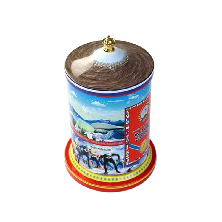 Food grade custom mademetal cheap dancing song music box
