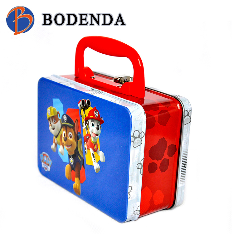 lunch box , tin lunch box , metal lunch box