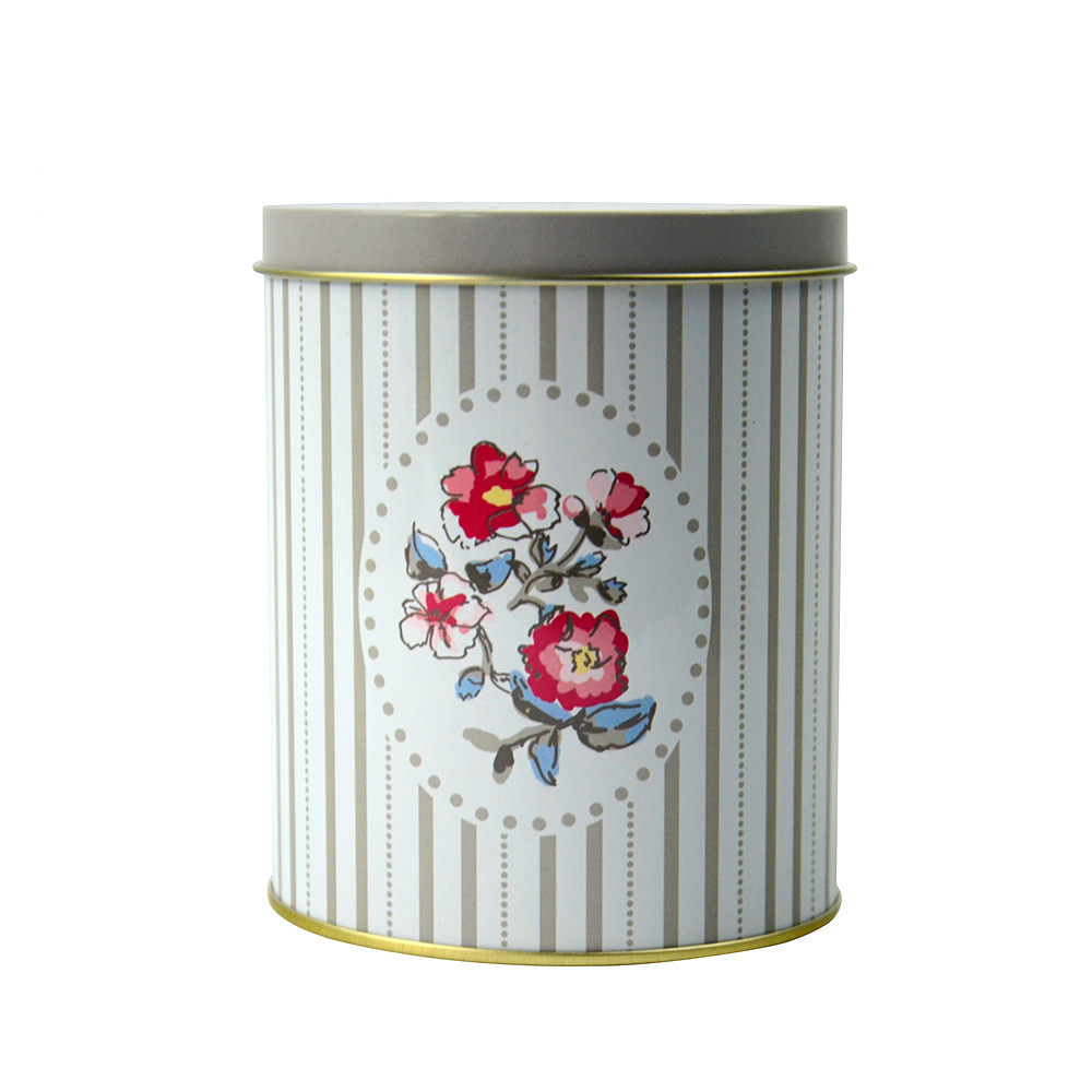 Bodenda high quality round tin cans food metaltin boxes coffee can