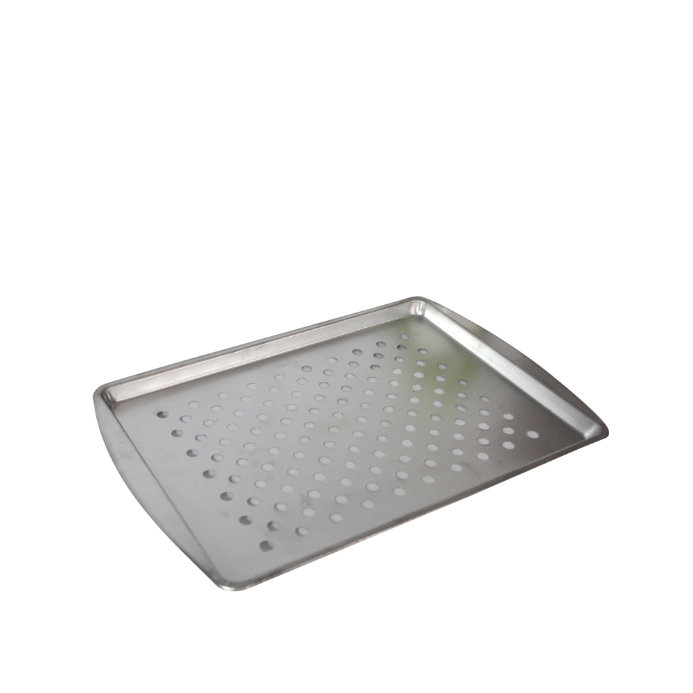 wholesale rectangle metal plain tin trays