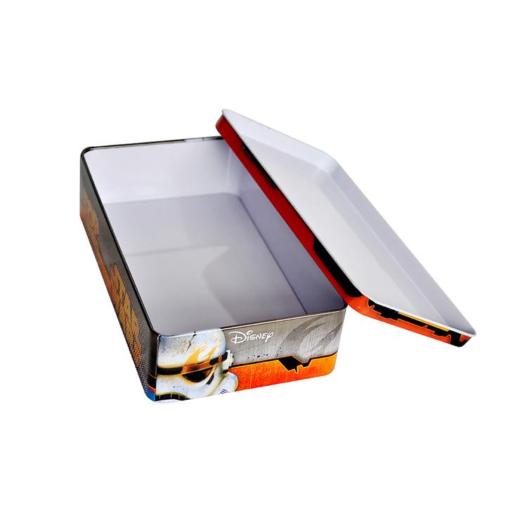 Manufacturers matte metalrectangular tin box credit card