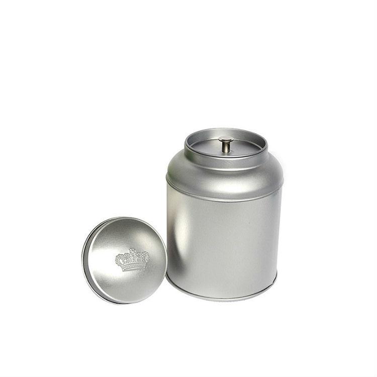 Large storage sanitary pad airtight tea packaging custom tin can box with 2 lids