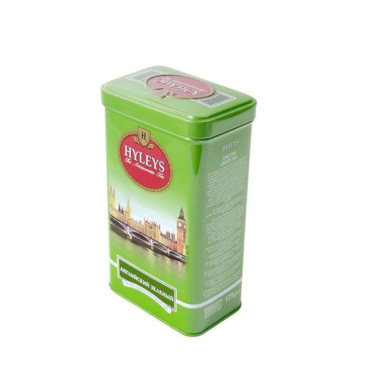Bodenda factory wholesales food graderectangular large cookie tea tin box