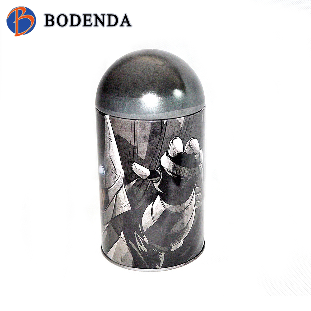 decorative tin containers hinged tin containers round tin containers