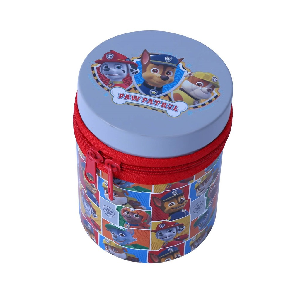 High quality round shape cute tin box packaging metal can for gift packaging hinged metal tin box
