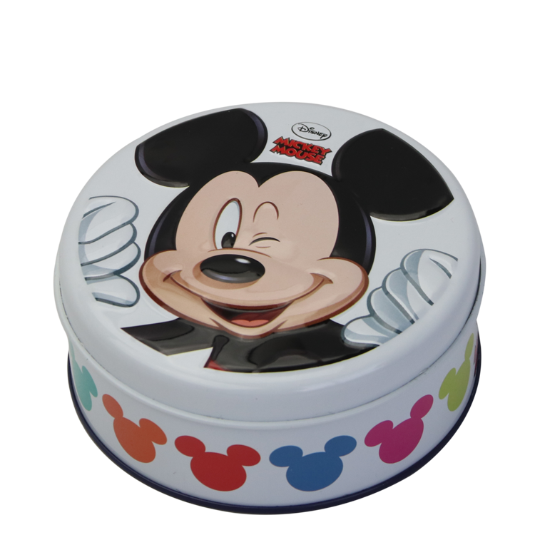 Round Shape Metal Tin candy can