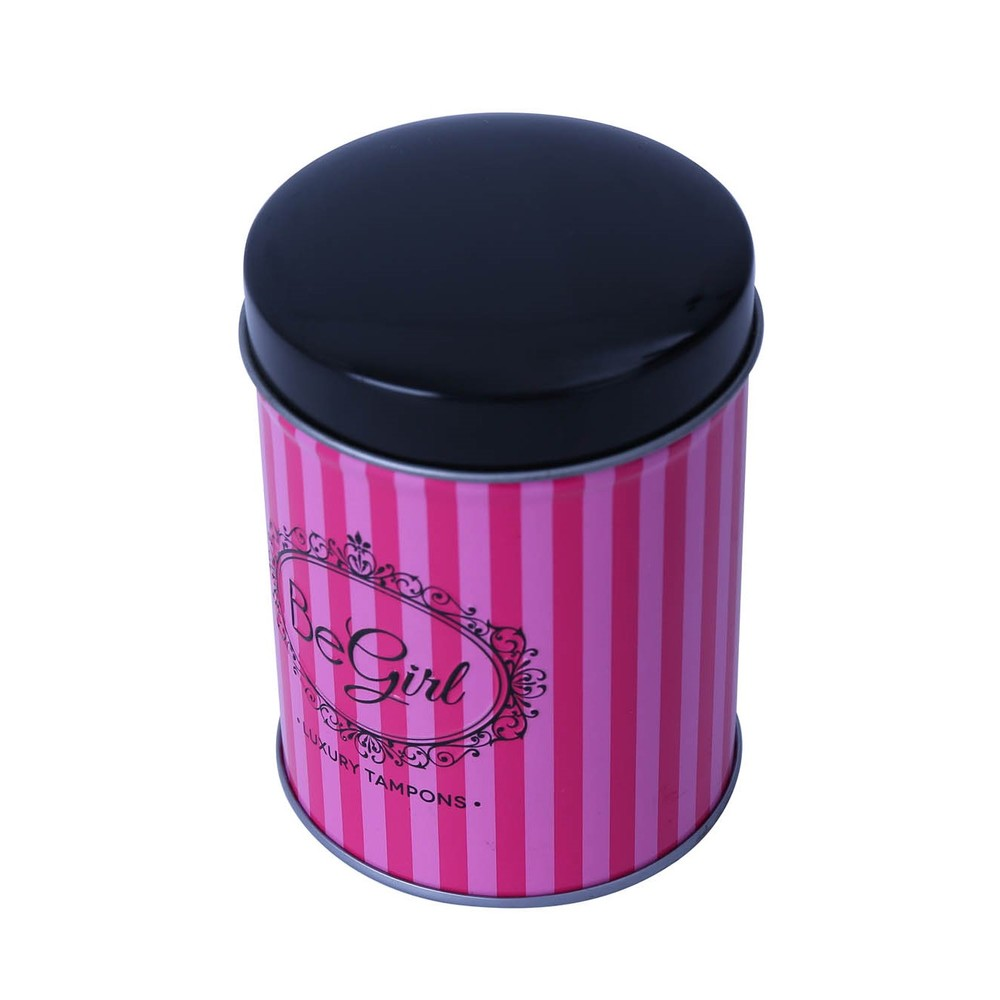 Wholesale customized bulk tea caddies round coffee can roundtin box packaging forpersonalized food use coffee can