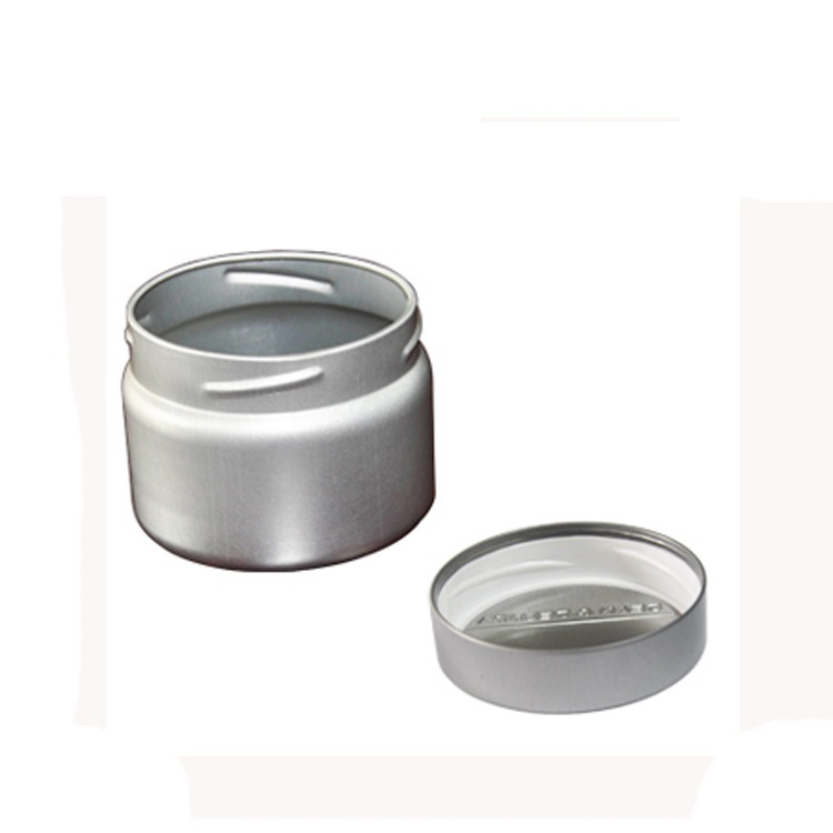 Wholesale custom round tin box for food spice Kitchen storage aluminum tin can
