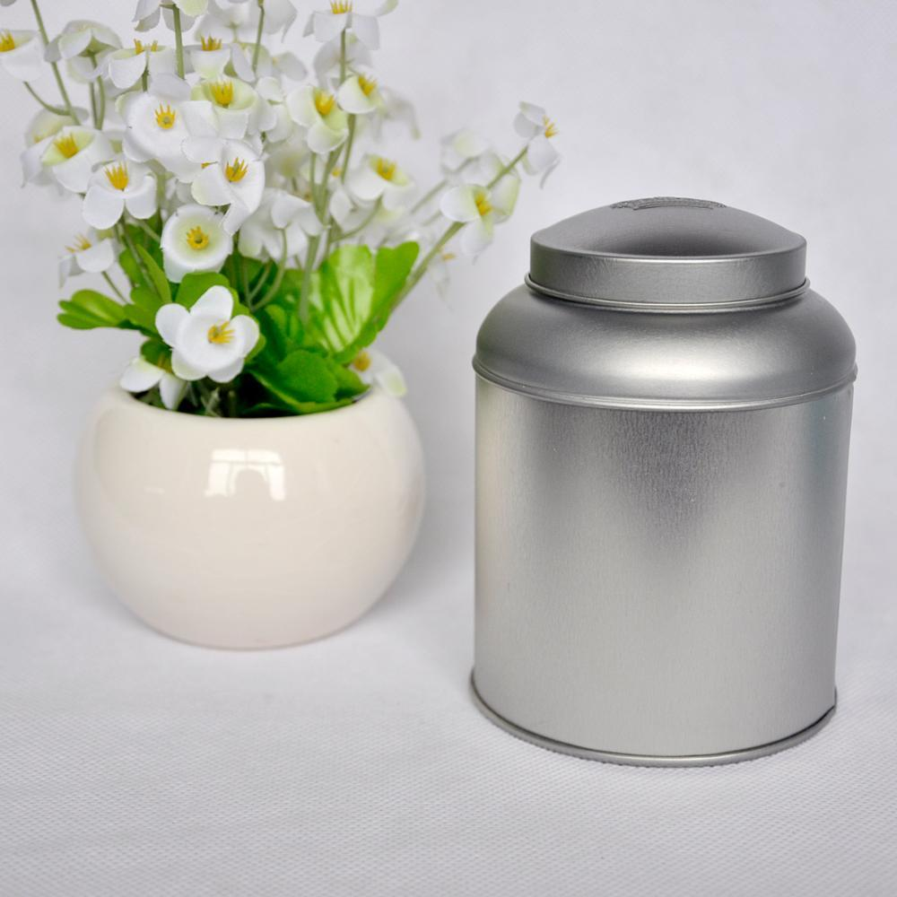 Chinese tea tin cans , large tin cans , metallic box for tea