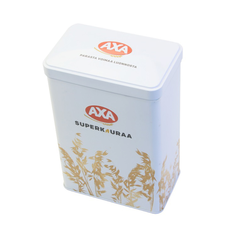 Bodenda high quality childproof packaging food box food grade chocolate tin box