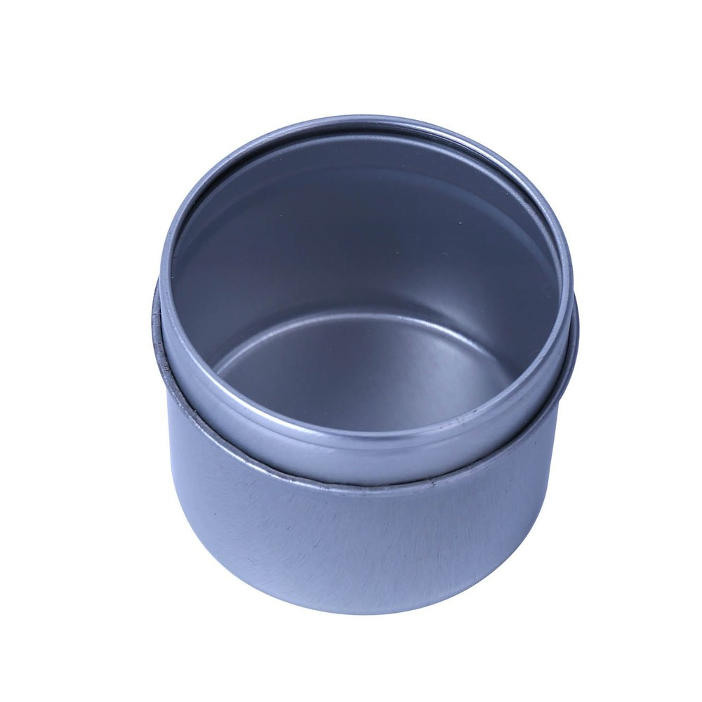 Small size round shape tin gift food packing box customized tin can