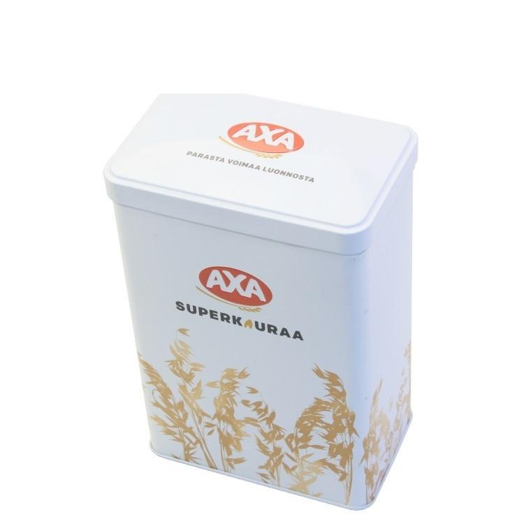 Wholesale Custom Food Grade Rectangular Tin CanMetal Square Boxes Aluminum Tea Tin Box