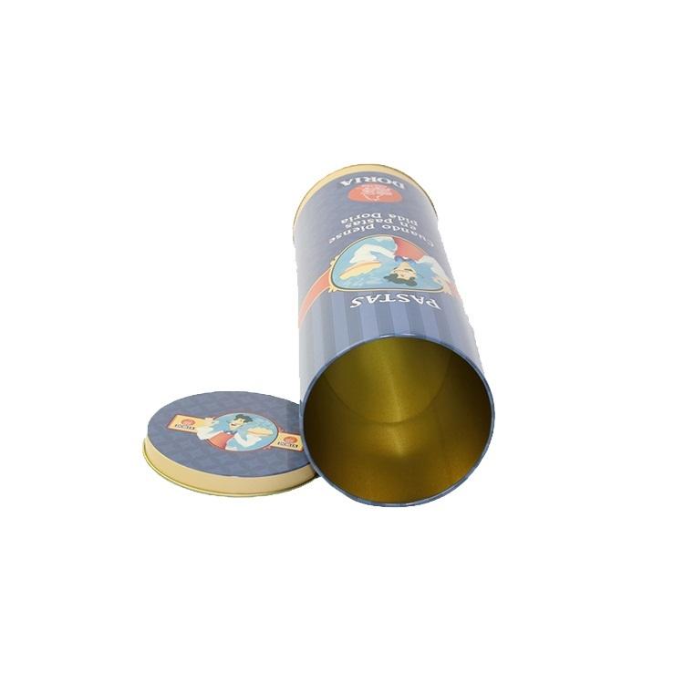 Custom Metal Coffee Tea Tin Can Wholesale Small Mint Packaging Round Tin Box