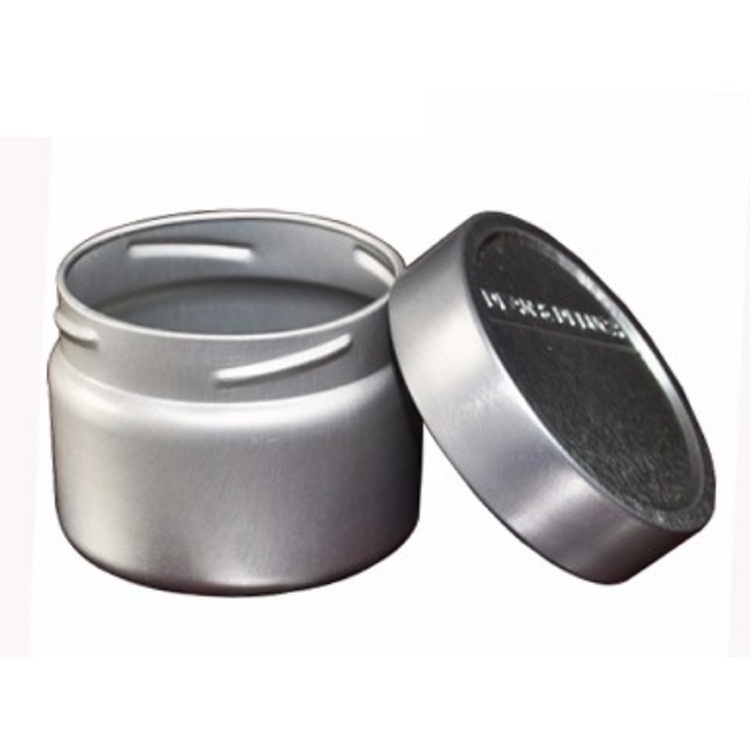 Soy wax candle aluminum tin boxempty metal spice packing tin boxes