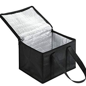 Foods Delivery Picnic Cooler BagPortable Insulated Lunch Bags