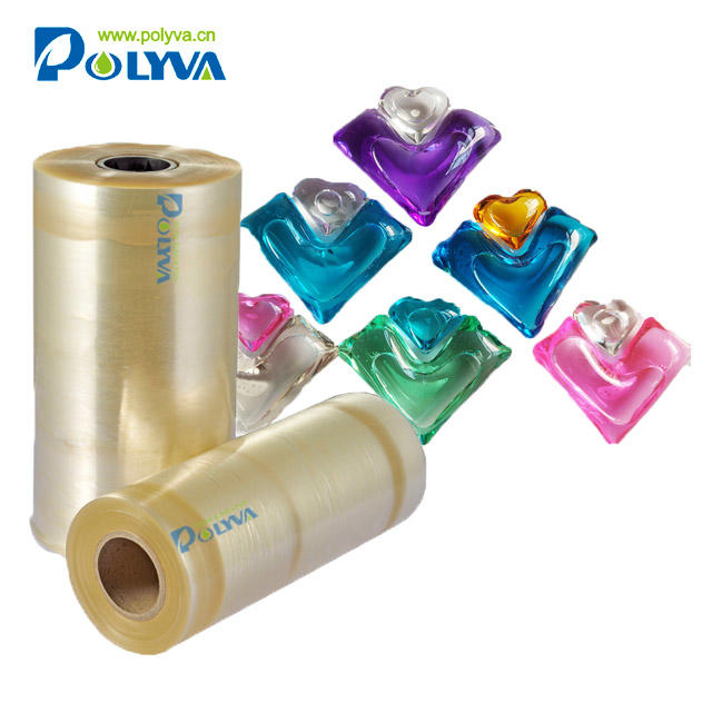 Polyva safe environmental protection laundry beads special packaging water soluble film