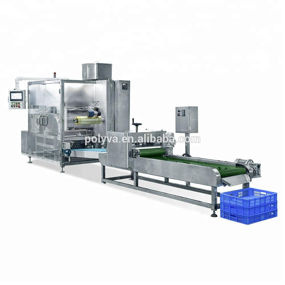 Water soluble laundry podspolyvinyl alcohol film packaging /filling machine