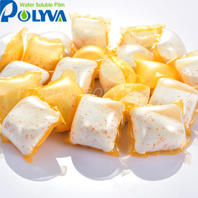 POLYVA cold water soluble pva film liquid/powder laundry detergent pods packaging film