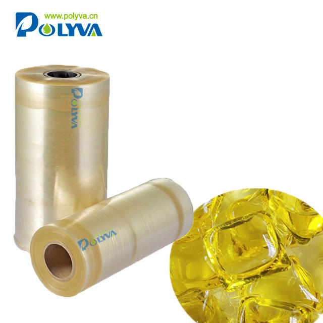 Polyva high weathering compatibility performance detergent beads water - soluble packaging film