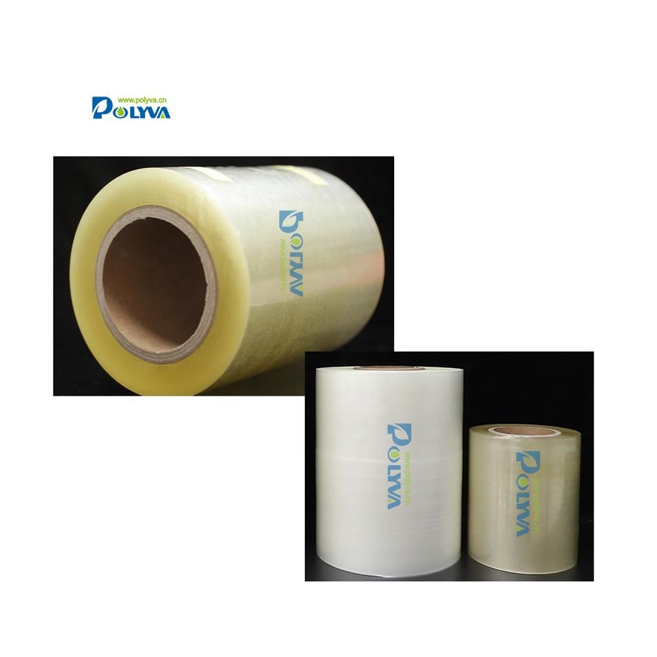 Polyva disposable water soluble packing material PVA film