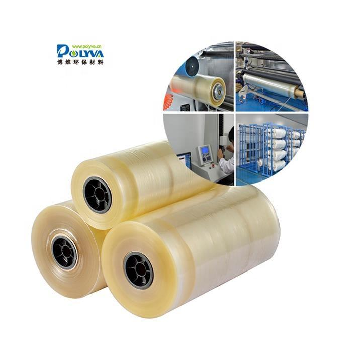 OEM and ODM stretch wrap and laminar packigng water soluble film for laundry capsule