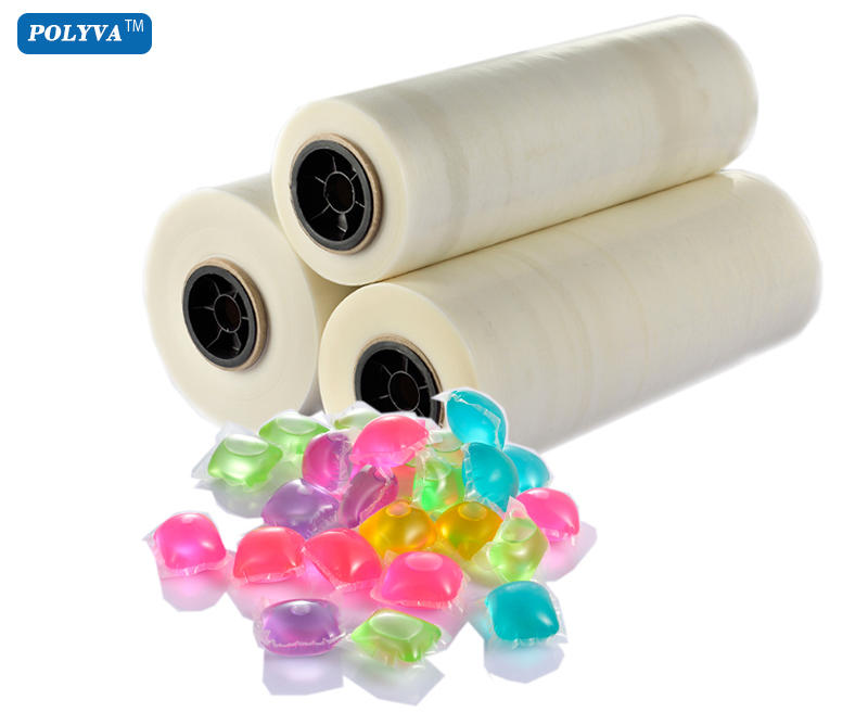 pva capsules laundry detergent pods water soluble plastic film