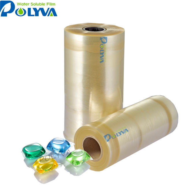 POLYVA cold water soluble PVA film for laundry detergent pods/dose/capsules packing